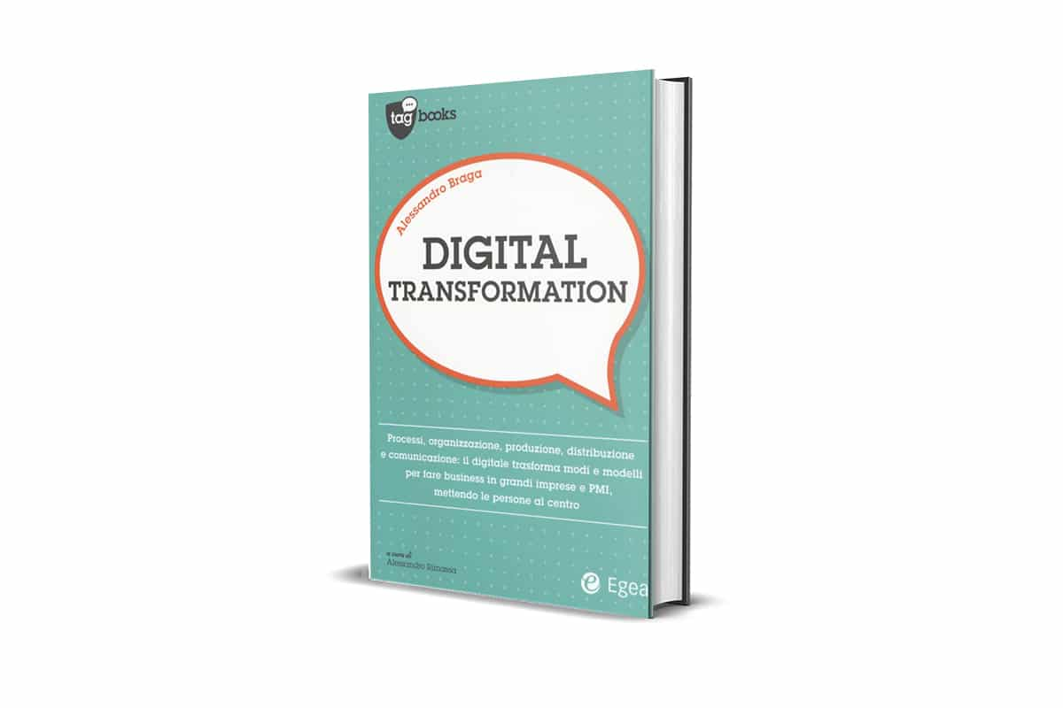 Book Cover of Digital Transformation by Alessandro Braga