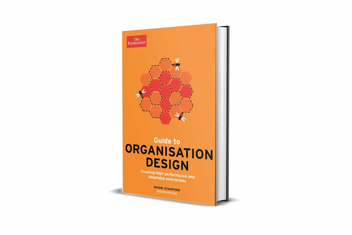 Book Cover Guide to Organisation Design by Naomi Stanford