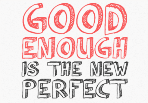Being Good Enough 1