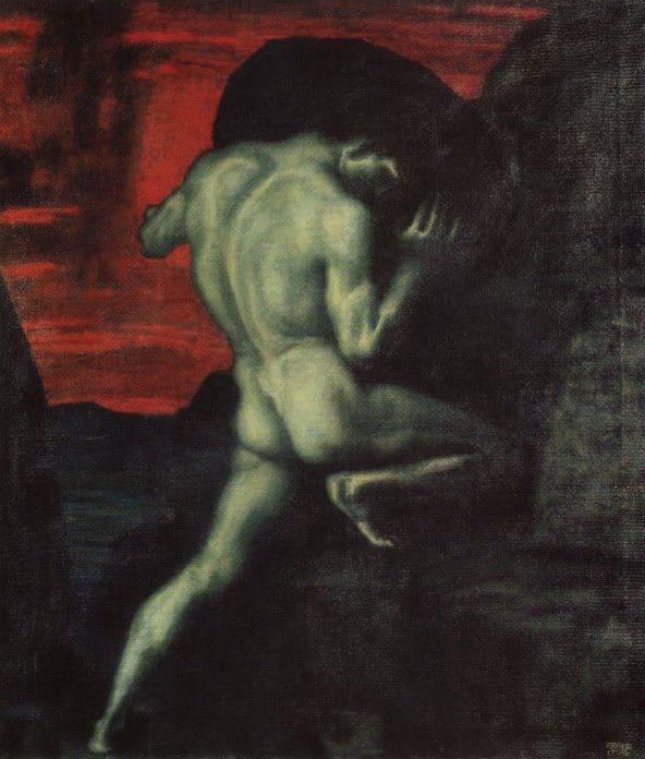 Franz Von Stuck, Sysyphus, 1920.