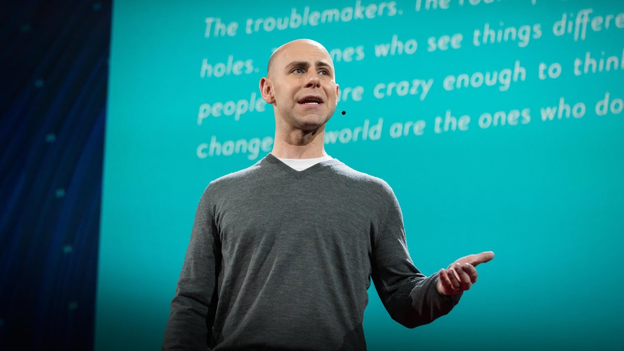 The surprising habits of Original Thinkers, by Adam Grant 9