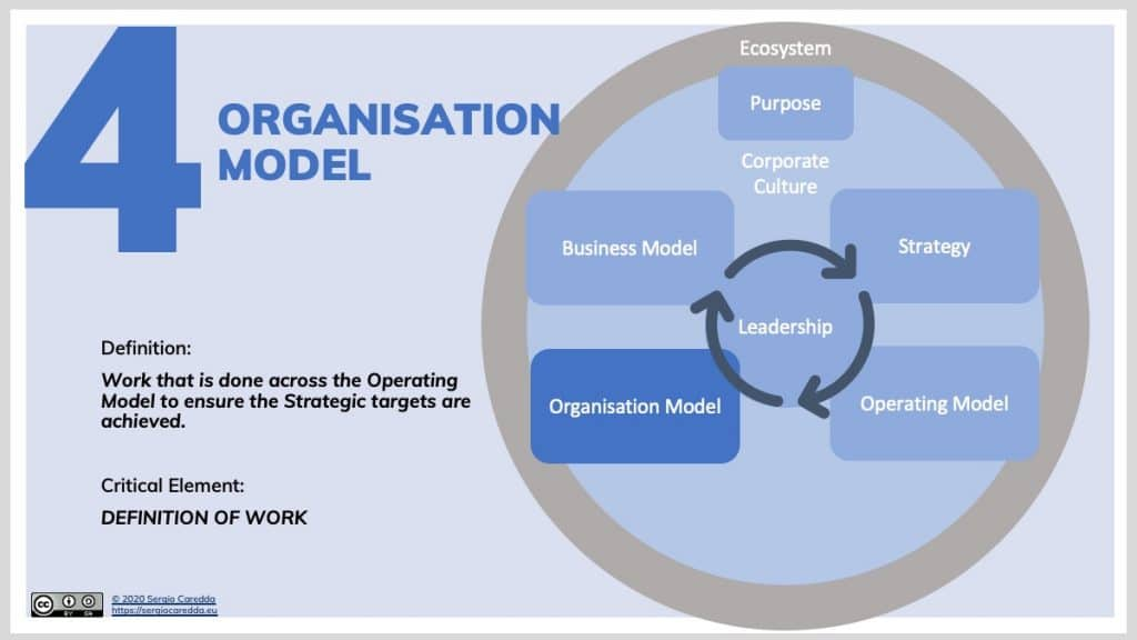 4. Organisation Model | Organisation Evolution Framework