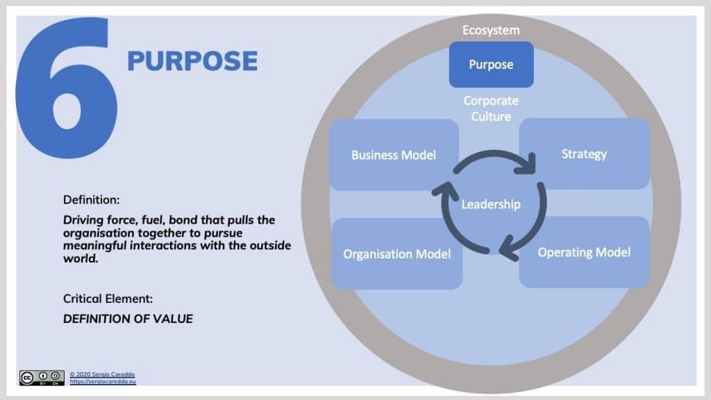 6. Purpose | Organisation Evolution Framework
