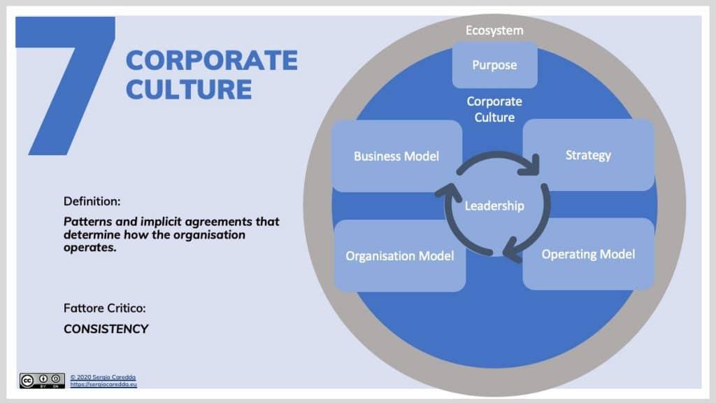7. Corporate Culture | Organisation Evolution Framework