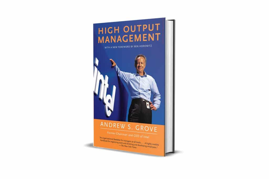 Book Review: High Output Management by Andrew S. Grove