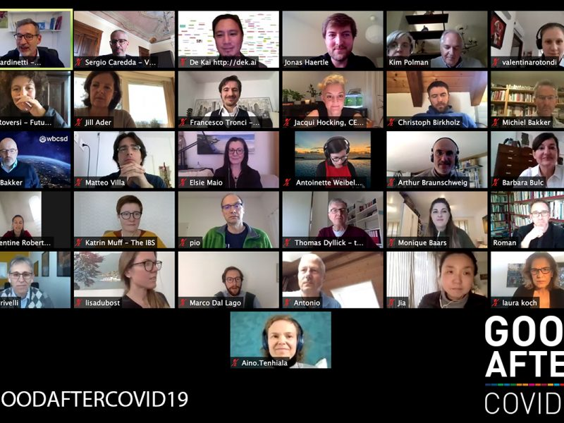 Good After Covid19: from crisis to global opportunity
