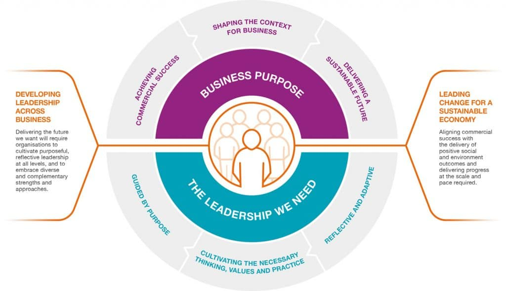 Cambridge Impact Leadership Model Source: (University of Cambridge Institute for Sustainability Leadership (CISL), 2018)