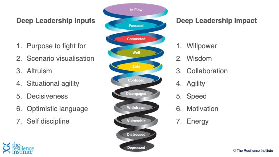 Resilience Spiral applied to Leadership