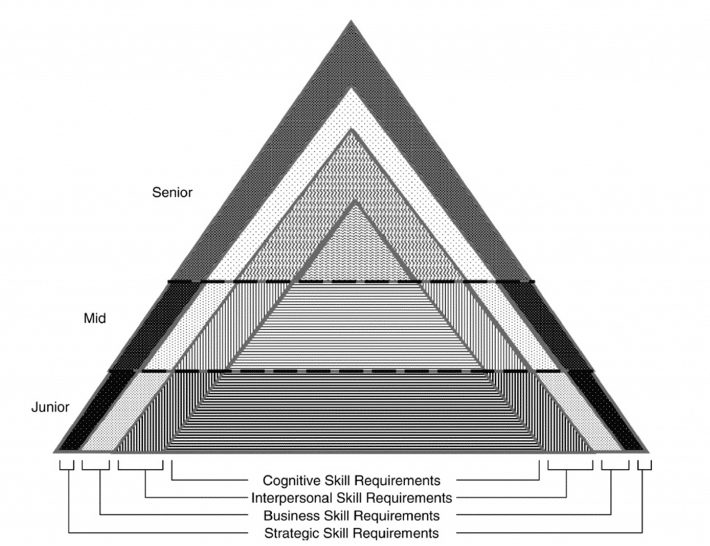 The leadership skill requirements strataplex (Mumford, Campion and Morgeson, 2007)