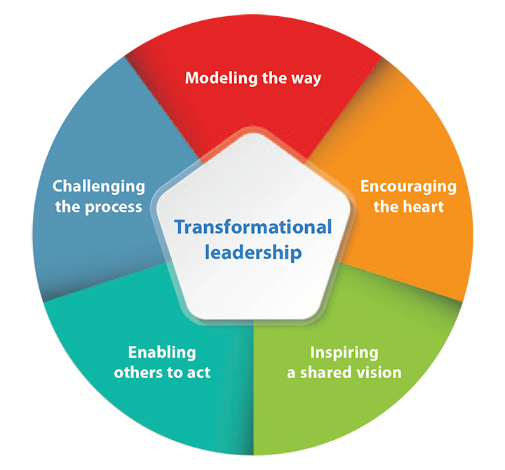 American Nurse Association Transformational Leadership Model. Source: ANA (Clavelle and Prado-Inzerillo, 2018)