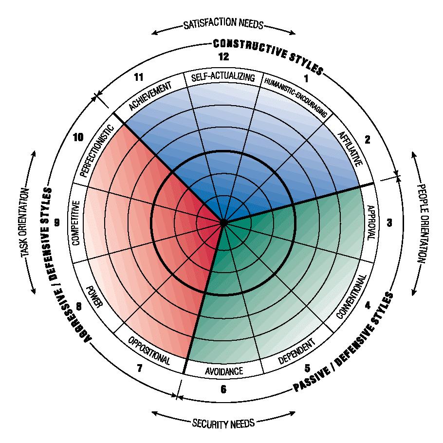 Fig. 16: Human Synergistics Circumplex